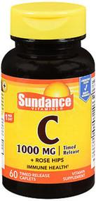 Sundance C 1000 mg + Rose Hips 60 Timed Release Caplets