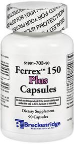 Breckenridge, Ferrex 150 Plus, Capsules - 90 Capsules