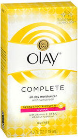Olay Complete All Day Moisturizer With SPF15 - Normal - 4 oz