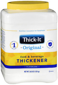 Thick-It Instant Food and Beverage Thickener Powder, Unflavored - 36 oz