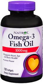Natrol Omega-3 Fish Oil 1000mg - 150 Softgels