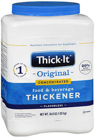 Thick-It 2 Instant Food and Beverage Thickener, Unflavored Concentrated Powder - 36 oz