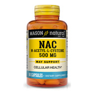 Mason Natural NAC, N-Acethyl-L-Cysteine Capsules - 60 Capsules