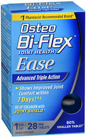 Osteo Bi-Flex Joint Health Ease Advanced Triple Action Mini Tabs - 28 ct
