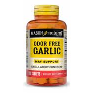 Mason Natural Odor-Free Garlic Tablets - 100ct