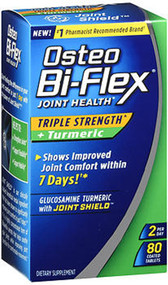 Osteo Bi-Flex Joint Health Herbal Formula With Turmeric Capsules - 80 ct
