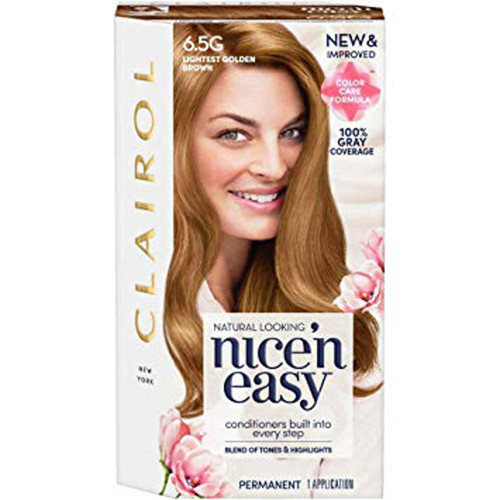 Clairol Nice N Easy Hair Color 6 5g 114a Natural Lightest Golden
