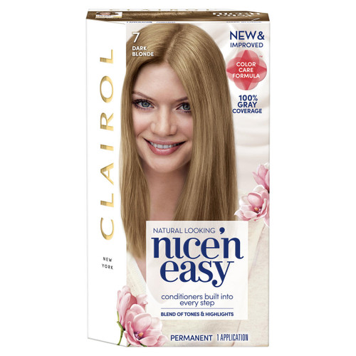 Clairol Nice N Easy Permanent Haircolor 7 106a Natural Dark Neutral