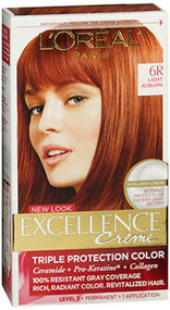 L'Oreal Excellence Creme 6R Light Auburn