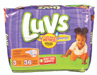 Luvs Convenience Pack Diapers 34ct - Size 3 (34 ct), 16-28 lb
