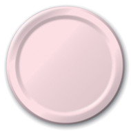 Solid Color Dinner Plates - Classic Pink, 9""