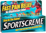 Sportscreme Pain Relieving Rub - 3oz