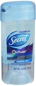 Secret Outlast Anti-Perspirant Deodorant Clear Gel Completely Clean  - 2.7 oz