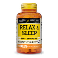 Mason Natural Relax & Sleep Tablets - 90 ct