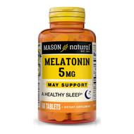 Mason Natural Melatonin 5 mg Tablets Extra Strength - 60ct