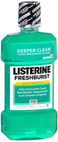 Listerine Mouthwash Fresh Burst - 16.6 oz
