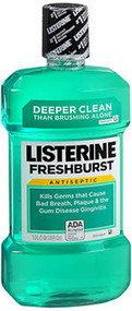 Listerine Mouthwash Fresh Burst - 33.8 oz