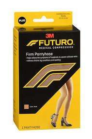 Futuro Medical Compression Firm Pantyhose Nude Plus 71031 - 1 pr