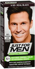 Just For Men Original Formula Haircolor Real Black H-55 - 1 ea.