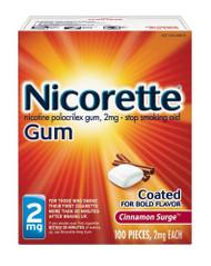 Nicorette Gum 2mg Cinnamon Surge - 100 ct