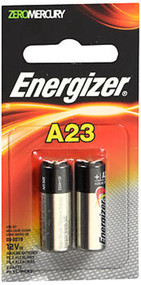 Energizer Zero Mercury Alkaline Battery - A23 - 2 Ct.