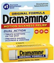 Dramamine Original Formula - 12 ct