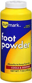 Sunmark Foot Powder - 7 oz