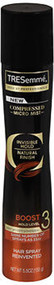 TRESemme Compressed Micro Mist Hair Spray Boost Hold Level 3 - 5.5 oz