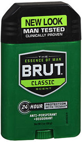 Brut Anti-Perspirant & Deodorant Solid Original Fragrance - 2 oz