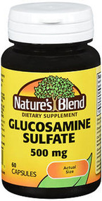 Nature's Blend Glucosamine Sulfate 500 mg Capsules - 60 ct