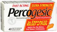 Percogesic Caplets Extra Strength - 40ct