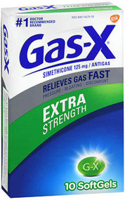 Gas-X Softgels Extra Strength - 10 ct