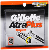 Gillette AtraPlus Cartridges with Lubrastrip - 10 ct