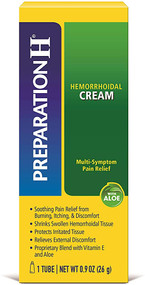 Preparation H Soothing Cream with Aloe - 0.9 oz