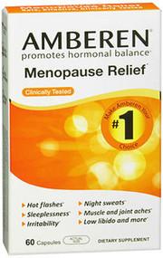 Amberen Menopause Relief Dietary Supplement Capsules - 60 Count