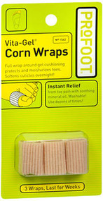 ProFoot Vita-Gel Corn Wraps - 3 ct