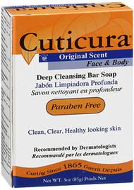 Cuticura Face & Body Deep Cleansing Bar Soap Original Scent - 3 oz