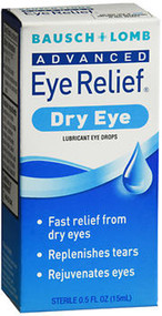 Bausch + Lomb Advanced Eye Relief Rejuvenation Lubricant Drops - 0.5oz
