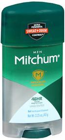Mitchum Men Advanced Control Anti-Perspirant & Deodorant Gel Unscented - 2.25 oz
