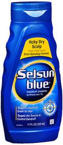 Selsun Blue Dandruff Shampoo Itchy Dry Scalp - 11 oz