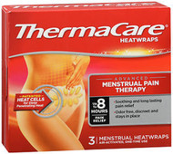 ThermaCare Heatwraps, Menstrual - 3 ct