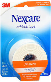 Nexcare Athletic Cloth Tape 1-1/2 Inches X 12-1/2 Yards White - Each