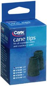 """Carex Cane Tips, 5/8"""""""