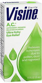 Visine A.C. Astringent/Redness Reliever Eye Drops - 0.5 oz
