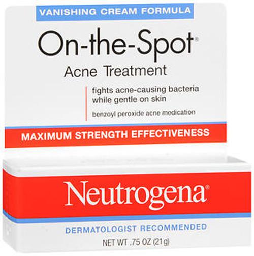 Neutrogena On-The-Spot Acne Treatment Vanishing Cream - 0.75 oz
