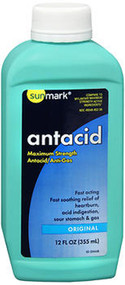 Sunmark Antacid - Liquid - 12 oz