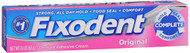 Fixodent Denture Adhesive Cream, Original - 2.4 oz