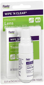 Flents Wipe 'n Clear Eyeglass Lens Cleaning Kit K465