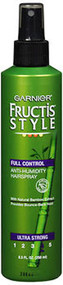 Garnier Fructis Style Full Control Anti-Humidity Hairspray Ultra Strong - 8.25 oz