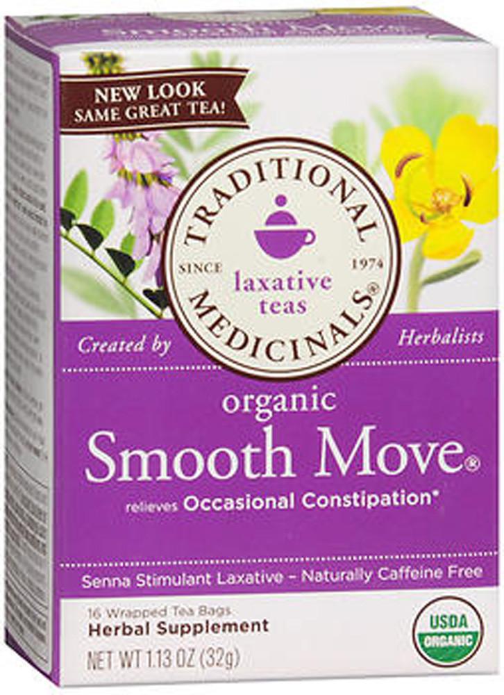 Traditional Medicinals Laxative Herbal Tea Organic Smooth